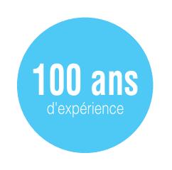 100 ans d'expérience
