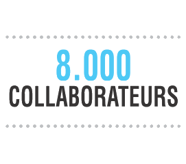 8000 collaborateurs