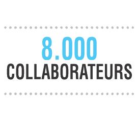 8000 collaborateurs